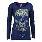 Yakuza Premium Damen Long Sleeve Shirt 2143 navy