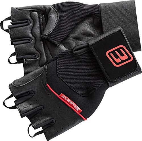 ENERGETICS 710 Herren Handschuhe, Schwarz/Rot, XL