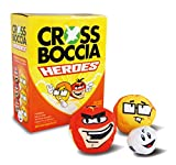 Crossboccia Set Double Pack Heroes Design Super Plus Nerd, 970826