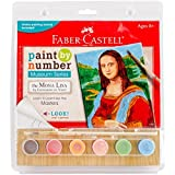 Faber Castell Paint By Number Museum Series The Mona Lisa By Leonardo Da Vinci