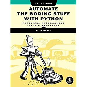 51SYS7OOBkL. SS300  - Automate the Boring Stuff with Python, 2nd Edition: Practical Programming for Total Beginners