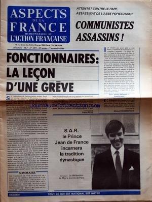 ASPECTS DE LA FRANCE [No 1871] du 01/11/...