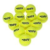 Docooler 12pcs Tennis Training Ball der Praxis hohe Schlagfertigkeit Durable...
