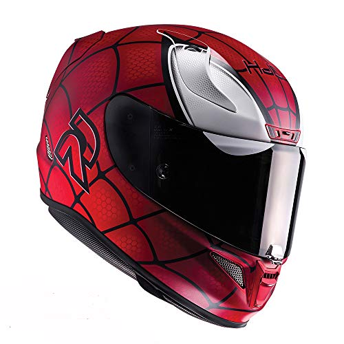 HJC RPHA 11 Casco Integrale Moto Scooter Spiderman Mc1Sf S (55-56cm)