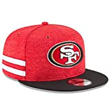 New Era NFL San Francisco 49ERS Authentic 2018 Sideline 9FIFTY Snapback Home Cap, Größe :M/L