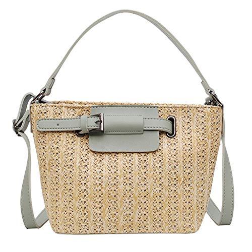 OIKAY Mode Damen Tasche Handtasche Schultertasche Umhängetasche Mode Neue Handtasche Frauen Umhängetasche Schultertasche Strand Elegant Tasche Mädchen 0605@048