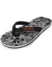 Electra Kids Black&Grey Color Thong-Style Slippers/Flip Flops
