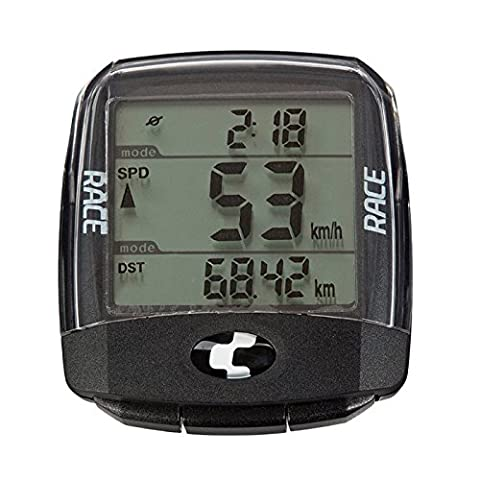Ciclo MC4.2 Race Blackline Special Edition for Pignolo Waterproof Heart Rate and Cadence Wireless Bicycle Computer Speedometer With Auto Start/Stop Function and LCD