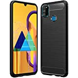 Amazon Brand - Solimo Protective Mobile Cover (Soft & Flexible Back Case) for Samsung Galaxy M30s (Black)