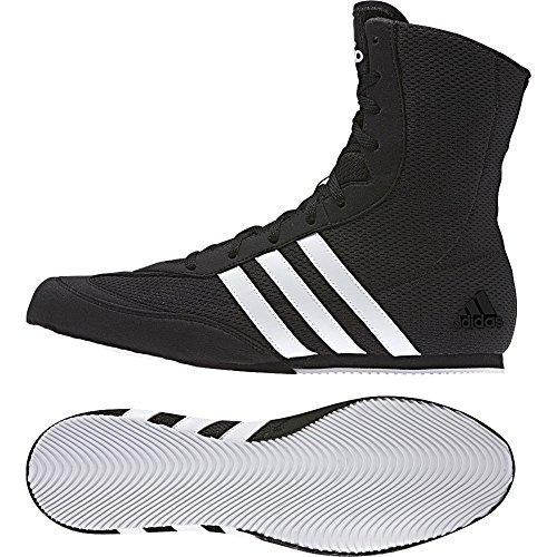 adidas Box Hog.2, Scarpe da Boxe Uomo, Nero (Schwarz), 44 2/3 EU