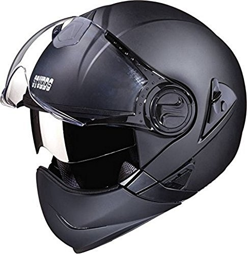 Studds Full Face Helmet Downtown (Matt Black, L)