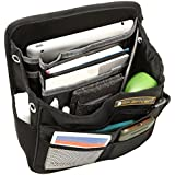 AikeSweet Coche asiento trasero Organizador Ordenado 9 bolsillos - Organizar Todo el bebé, juguetes para niños y accesorios de viaje en su coche, SUV, Y Minivan (Negro)