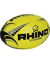 0f3e97e094030 Only Sports rouage Rhino RUGBY Cyclone Ballon de rugby toutes les tailles  jaune