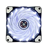 Aohro 120 mm High Airflow LED ventola silenziosa ventola per PC Computer Case Fan