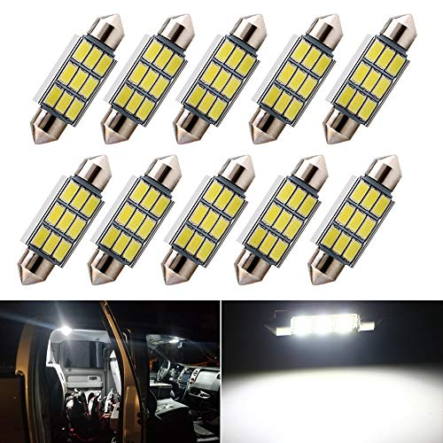 Water /& Wood 4PCS 31mm 16-SMD 1.25 Festoon Dome Light LED Lamp White DE3175 DE3022 with Car Cleaning Clothing