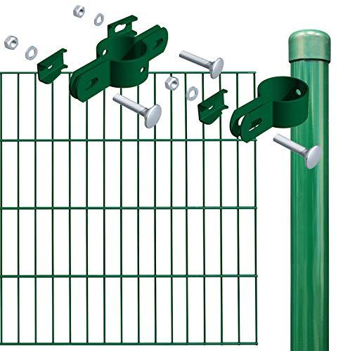 Einstabmatte Grundset 1000 x 100 cm, grün