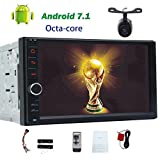 Eincar Android 7.1 Doppel-DIN-Autoradio GPS 8 Cores 2 GB RAM 32 GB ROM 1024 * 600 TouchScreen Autoradio-Stereo in dash 4G SIM-Karte ScreenMirror Bluetooth Lenkrad-Steuerung Frontkamera + Backup-Kamera