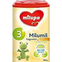 Milupa Milumil 3 Vanille-Geschmack, Folgemilch ab dem 10. Monat, 800 g