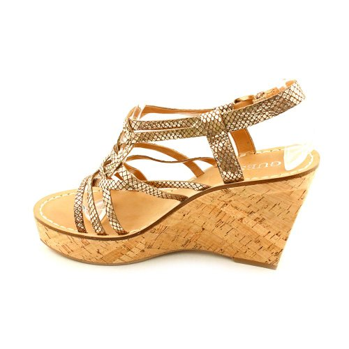 Guess Yarkena, Scarpe con plateau donna Gold
