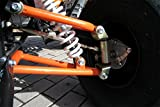 Kinder Quad S-10 125 cc Motor Miniquad 125 ccm orange Warriorer - 6