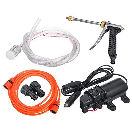 Dream Edge Elektrische Pumpe 12 V Tragbare Sprühreiniger Bewässerung Waschen intelligente Pumpenreinigungsset Hochdruckreiniger Elektroauto