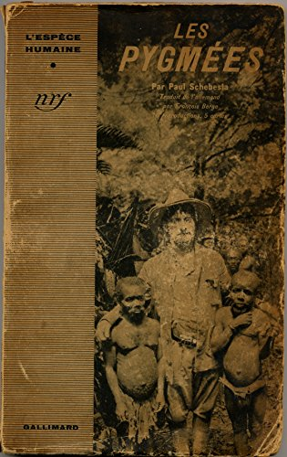 Les pygmées. par Schebesta Paul