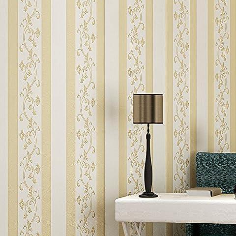 Ultime non tessuta coniatura nuova carta da parati carta da parati tendenza semplicità continentale verticale strisce tappezzeria , 26-151