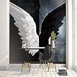 Schwarz-weiße Tapete für Wand 3D benutzerdefinierte Foto Hintergrund Wohnkultur abstrakt