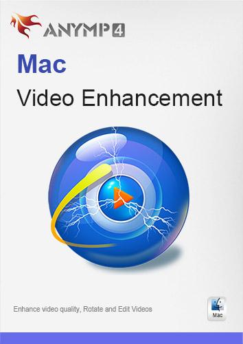 ANYMP4 Mac Video Enhancement 1 Year License - Videoqualität verbessern, Video drehen und bearbeiten [Download]