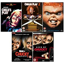 The Complete Chucky DVD Movie Collection: Child's Play / Child's Play 2 / Child's Play 3 / Seed of Chucky / Bride of Chucky by Alex Vincent