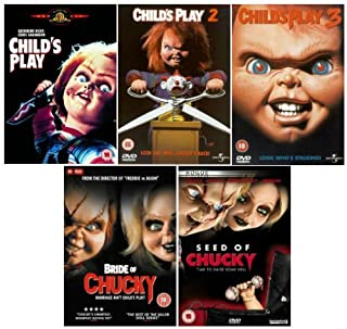 The Complete Chucky DVD Movie Collection: Child's Play / Child's Play 2 / Child's Play 3 / Seed of Chucky / Bride of Chucky by