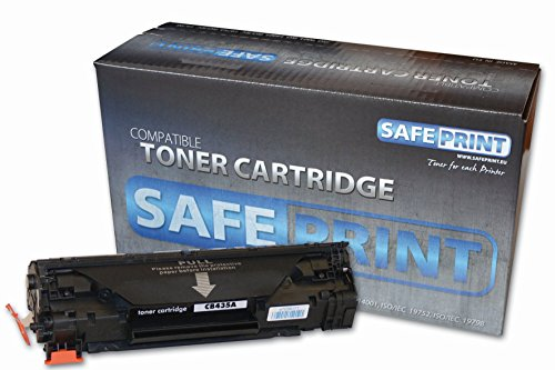 SAFEPRINT 6101025001 - Tóner para impresoras láser (1500 páginas, Negro, HP LJ P1005, 1006)