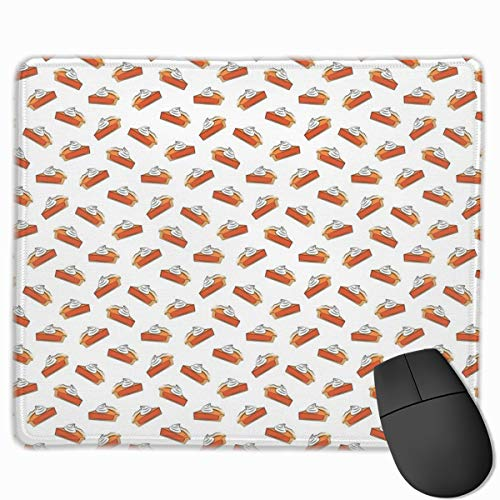 Just One Slice - Pumpkin Pie_119918 Mouse pad Custom Gaming Mousepad Nonslip Rubber Backing 9.8