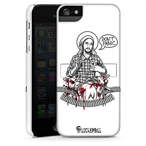 Apple iPhone X Silikon Hülle Case Schutzhülle Jesus Schaf Blut Premium Case StandUp