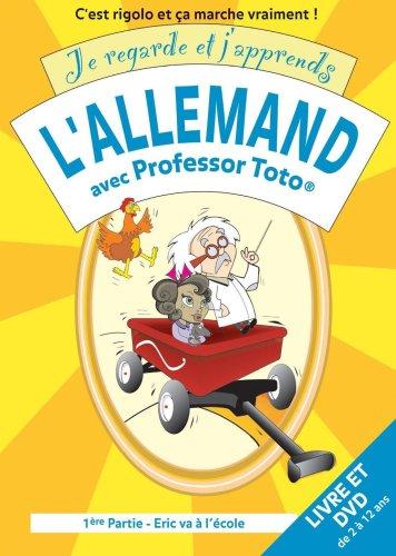 Je regarde et j'apprends l'allemand avec Professor Toto. 1, Eric va à l'école