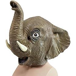 Animal Rubber O'head Mask. Elephant head (máscara/careta)