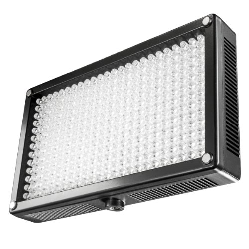 Walimex Pro 312 - Luce video a LED bicolore