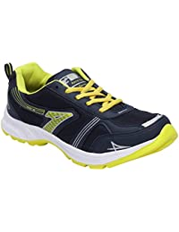 CF_Better Deals Mens Synthetic Mesh Navy Green Coloured Sports Shoe| Running Shoes| Pro Running Shoes| Sprint...