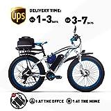 RICH BIT RT022/RT016 Vélo Électrique LG Li-Batterie E-Bike 48V 1000W/500W Moteur Frein À Disque Mécanique Shimano 21 Vélo De Montagne