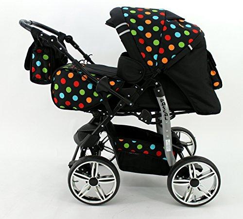 Kombi Kinderwagen Travel System Pascal 3in1 Kinderwagen + Babyschale Carlo 0-10kg