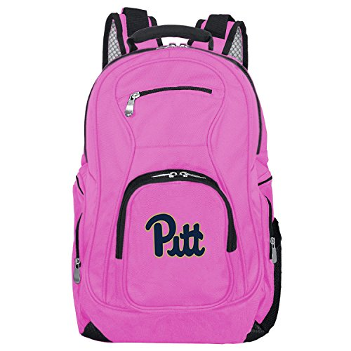 DENCO NCAA Pittsburgh Panthers Voyager Laptop Backpack, 19-inches, Pink