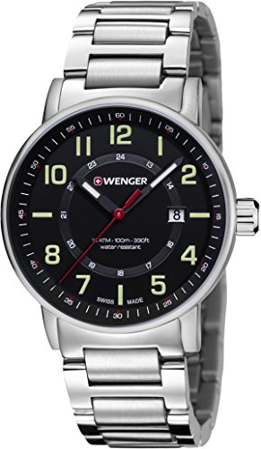 Montre Wenger Attitude Day&Date homme 01.0341.113