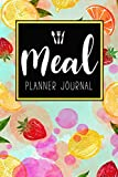 Meal Planner Journal: 52 Week Meal Prep Book Diary Log Notebook Weekly Menu Food Planners & Shopping List Journal Size 6x9 Inches 104 Pages: Volume 5 (Food Planners Journal)