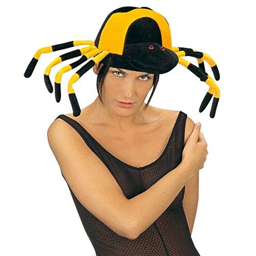 nne Hut Mütze Spinnenhut tierische Kopfbedeckung witzig Lustiger Hexen Hut Halloween Hexenhut Hexe Kostüm Zubehör Halloweenhut ()