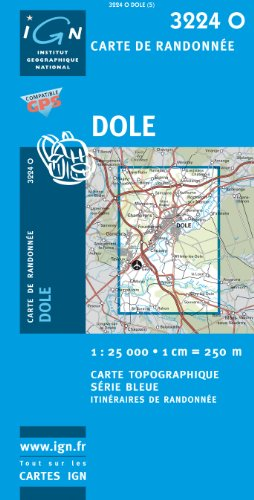 dole-1-25000-ign3224o-top-25-serie-bleue-carte-de-randonnee