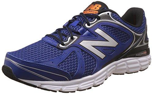 New Balance Men's 560 V6 Blue Leather Running Shoes - 9 UK/India (43 EU) (9.5 US)