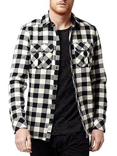 O'Neill Herren Lm Violator Flannel Shirt Hemd Black Aop