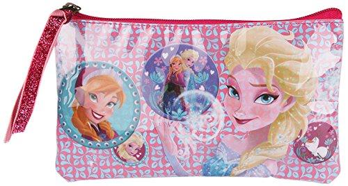 Frozen La Reine des Neiges Trousse à Maquillage Fête Givrée par Disney, Multicolore (Fraise/Bleu)