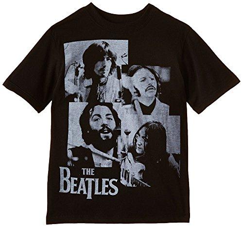 Let it Be The Beatles Jungen Studio Short Sleeve T-Shirt Gr. L, Schwarz - Beatles Short Sleeve T-shirt