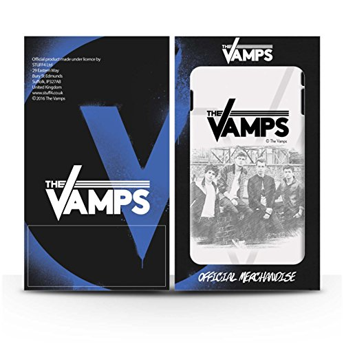 Offiziell The Vamps Hülle / Case für Apple iPhone 6S+/Plus / Pack 6pcs Muster / The Vamps Fotoshoot Kollektion Skizzieren